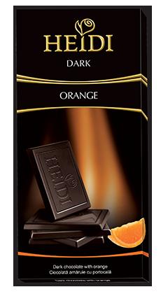 היידי שוקולד מריר תפוז